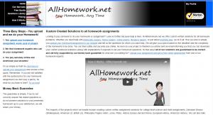Websites that do homework
